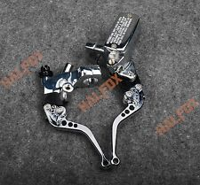 "For Honda STEED 400 shadow 600 VT750 25mm 1"" Brake Master Cylinder Clutch Levers"