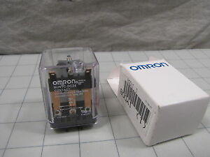 Omron 1YDD8 / MJN1C-DC24 Plug-In Relay 5-Pin Square Base NEW