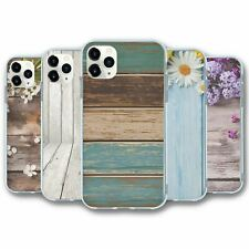 For iPhone 11 PRO Silicone Case Cover Wood Collection 2