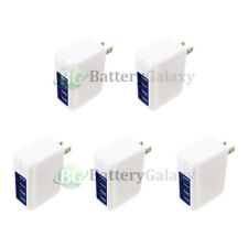 5X Fast 4 Port Wall Charger 3.1 Amp for Apple iPhone 4 / 4S / 5 / 5C /5S/SE