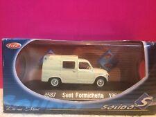 Solido superb seat formichetta 1964 new in box 1/43 r3