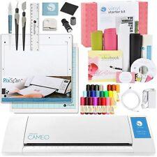 Silhouette Cameo V2 Machine VINYL Kit Pixscan Tools 24 Pen Set