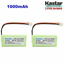 2 x AAAX2 2.4V EH Cordless Phone Battery for Uniden BT184342 BT284342 BT18433