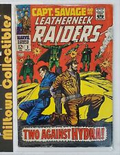 Capt. Savage And His Leatherneck Raiders #3 - Two Against Hydra - 1968