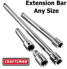 Craftsman 14 38 12 In Drive Extension Bar Socket Ratchet Any Size