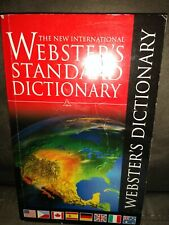 The New International Websters Standard Dictionary Paperback Updated Edition-EUC