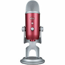 BLUE MICROPHONES Yeti USB Microphone - Steel Red