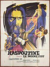 Affiche RASPOUTINE LE MOINE FOU Hammer CHRISTOPHER LEE Don Sharp 120x160cm *