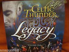 SIGNED X5  Legacy, Vol. 1 by Celtic Thunder Ireland LP, 2016, Celtic Thunder