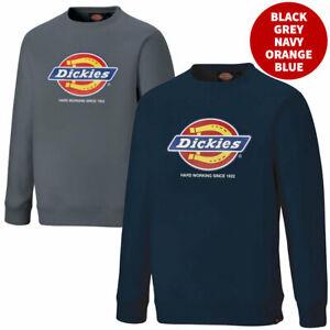 Dickies Longton Mens Sweatshirt Work Jumper Sweater DT3010 Hard Working * SALE *