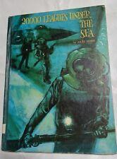 Jules Verne 20000 Leagues Under the Sea  Platt & Munk 1965 Hardcover