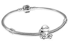 PANDORA Schmuck Silber-Armband mit Nini der Hase Bead-Charm 75703