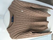 Polo Ralph Lauren Cable Knit Jumper Small (8-10) £95