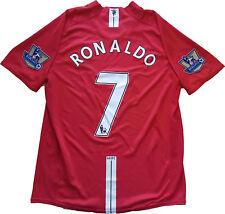 cristiano ronaldo maglia manchester united 2007 2008 aig CR7 jersey premier