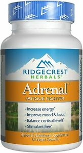 RidgeCrest Herbals Adrenal Fatigue Fighter (60 Veg Caps) EXP 01/2022