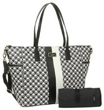 Kate Spade BRAND NEW Adaira Penn Place Black and White Vinyl Diaper Bag