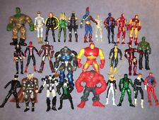 "⚡️ HUGE Lot Marvel Universe 3.75"" 27 Figures w/Customs 2099, Guardsman, Psylocke"