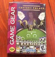 Ceasars Palace  Sega Game Gear Game Brand New sealed