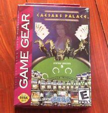Ceasars Palace Juego De Sega Game Gear Nuevo Sellado