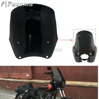 For Harley Dyna Super Glide T-Sport FXDXT Motorcycle 15 in Windshield Windscreen