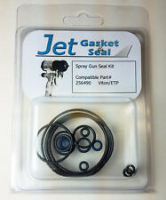 NEW JET GASKET BRAND O-RING SEAL KIT COMPATIBLE WITH GRACO 256490 FUSION CS