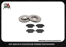 KIT DISCHI FRENO E PASTIGLIE POSTERIORI ALFA ROMEO 147 156 (937_) 1.9 JTD 115