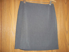 Limited Stretch Skirt Gray Size 8