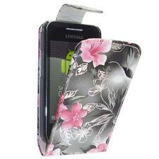 Custodie portafoglio rosa per Samsung Galaxy Ace