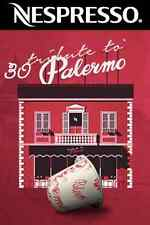 Tribute To Palermo Limited Edition Nespresso Coffee *30 Capsules*Express Post*