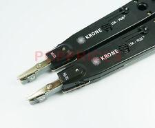 2PCS Set - Krone Network Adjustable Impact LSA-Plus Punch Down Tool Black