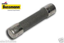 1pcs - BUSSMANN (MDA) 15A 6.3x32mm Time-Delay Ceramic Fuse - For Audio