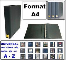 LOOK 1-4880-PL A4 Postkartenalbum Blau EXTRA BIG leer zum selbst befüllen