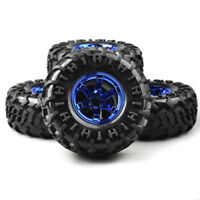 4Pcs 1:10 RC Bigfoot Rubber Tires Wheel for 1/10 Moster Truck On Road Model Car