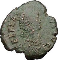 Aelia Flacilla wife of Theodosius I 383AD  Ancient Roman Coin Victory  i31675