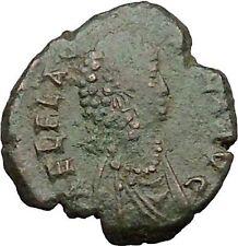 Aelia flacilla Esposa De Teodosio I 383ad Antigua Moneda Romana Victoria i31675
