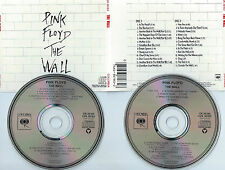 PINK FLOYD-THE WALL-1979-USA-COLUMBIA REC.C2K36183 DIDP020204/205-2CDS SET-MINT-