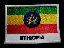 FEDERAL DEMOCRATIC REPUBLIC OF ETHIOPIA NATIONAL FLAG Sew on Patch Free Shipping