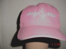 Womens-Ladies-Teen Girls-Pink-Baby Phat -Adjustable Velcro-Back-Baseball Hat Cap