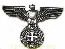 PIN Militaria Reichsadler Adler mit EK Deutschland aus Metall 40x28mm TOP # 298