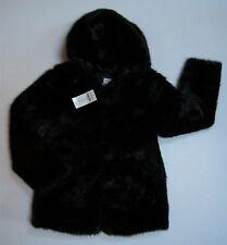 NWT Gymboree City Sidewalk Sz 9 Faux Fur Hooded Pom Pom Holiday Jacket Coat
