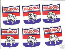 100 VFL Stickers Footscray -  Book Stickers 55MMX55MM LICK AND STICK TYPE