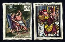 FRANCIA - Quadri di Francia - 1963 - Opere d'arte - Delacroix - Vetr. di Conche