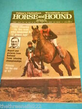 HORSE and HOUND - TEAM CHASING - MARCH 26 1987