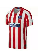 Nike 2019-20 Atletico Madrid Home Jersey - Red-White size xl