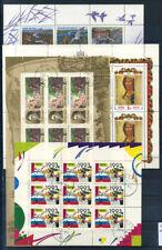 Russia 1992 Mi. 248,254,257,277 Miniature sheet 100% used , Ducks, Art, New Year