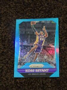 2015-16 Panini Prizm Kobe Bryant Light Blue Prizm 155/199 #182 (S215)