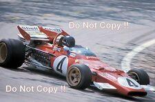 Jacky pela Ferrari 312 B español Grand Prix 1971 fotografía 3