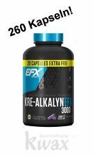 (11,04€/100g) Kre-Alkalyn 3000 von EFX 240 + 20 Kapseln = 260 Caps