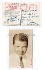 Audie Murphy - WWII, Medal of Honor, U.S. Army - Signed Postcard