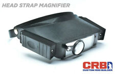 Crb Lighted Head Strap Magnifier Batteries Not Included For Rod Building